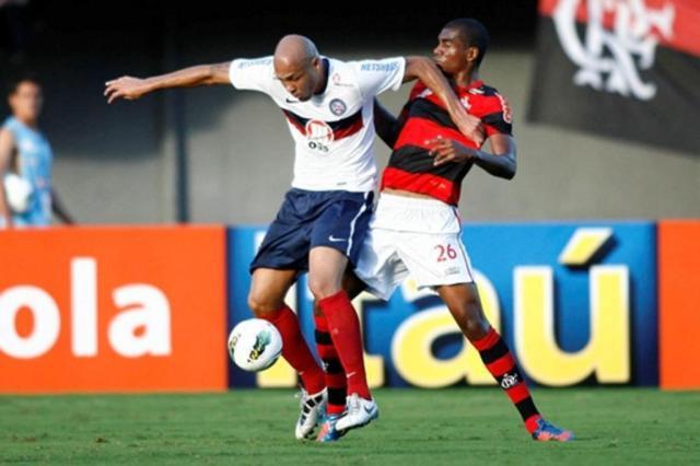 Com um a menos, Flamengo vence o Bahia por 2 a 1 em Salvador Reprodução/Site Oficial do Bahia