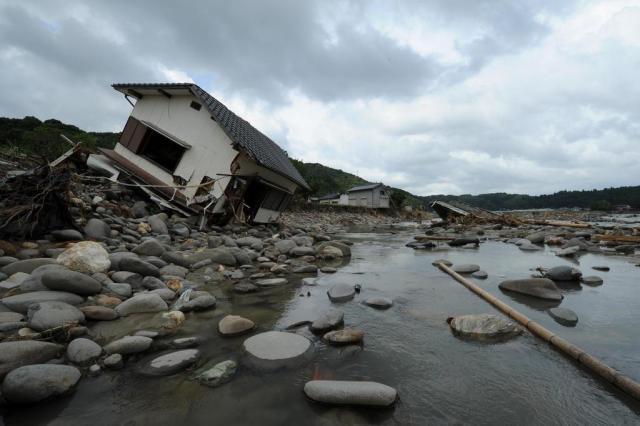 Chuva mata pelo menos 27 pessoas no Sul do Japão Kazhuhiro Nogi/AFP