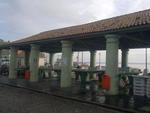 Em Rio Grande, no sul do Estado, a terça-feira começou nublada