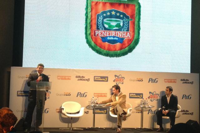 Grupo RBS lança projeto Peneirinha Gillette Renata Germano/
