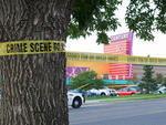 Polícia local cercou a área para continuar as investigações