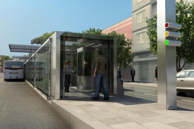 Prefeitura de Porto Alegre promete funcionamento de BRTs até o final de 2013 Divulgação/Prefeitura Municipal