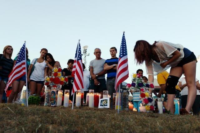 """""""Sou o coringa"""", teria dito suspeito do massacre no Colorado Kevork Djansezian/AFP"""
