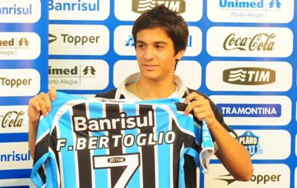 Grêmio diz que enviou a tempo documentação para transferência de Bertoglio Jean Schwarz/Grupo RBS/