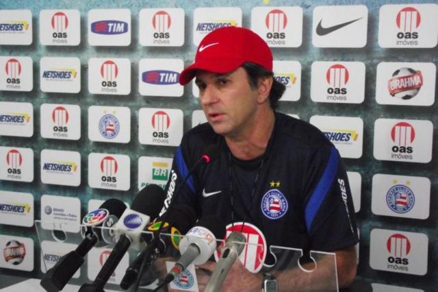 Caio Júnior comanda último treino do Bahia antes de confronto com Grêmio Divulgação/Bahia