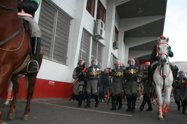 Brigada terá fotos e dados para conter infratores na entrada dos estádios Wesley Santos/Divulgação