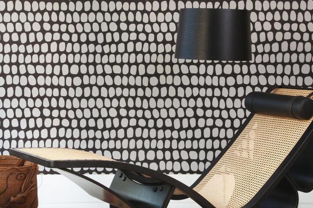 Papel de parede de designer personaliza superfícies com um design moderno Bobinex,Divulgação/Casa&Cia