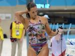 Na natação, a francesa Laure Manaudou atrai olhares