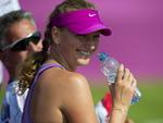Petra Kvitova, da República Checa, é uma das belas tenistas da Olimpíada