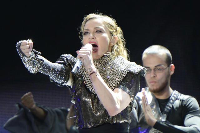 Justiça russa estuda processar Madonna por apoio a homossexuais Kevin Mazur/WireImage/Divulgação