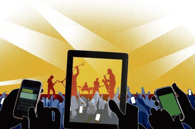 Quanto vale o show pelo visor do celular? reprodução/Edu Oliveira