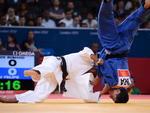 Kitadai ficou fora da final ao ser eliminado pelo uzbeque Rishod Sobirov