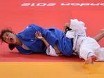 Ouro veio na vitória sobre a romena Alina Dumitru