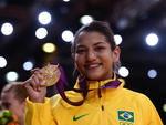 A judoca foi a primeira brasileira a chegar a uma final olímpica da modalidade