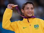 Sarah é a segunda brasileira a conquistar ouro em esporte individual em Olimpíada — a primeira foi Maurren Maggi, em 2008