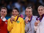 Vitória deu a Sarah o primeiro ouro olímpico da história do judô feminino brasileiro