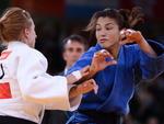 """A judoca havia sido apontada pela revista americana """"Sports Illustrated"""" como um dos oito possíveis ouro do Brasil em Londres"""