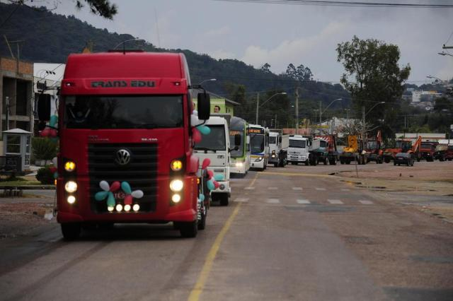 Procissões homenageiam padroeiro dos motoristas no Estado Ronaldo Bernardi/Agência RBS