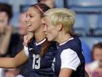 Jogadora de futebol Alex Morgan é mais uma americana entre as musas dos Jogos Olímpicos