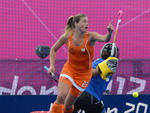 Kim Lammers, jogadora holandesa do hóquei na grama