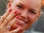A dinamarquesa Caroline Wozniacki do tênis
