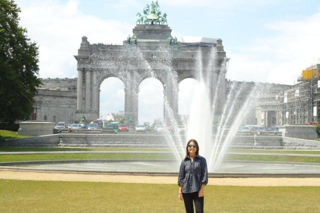 Servidora pública conta da sua estadia na capital da União Europeia Arquivo Pessoal/Arquivo Pessoal