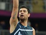 Carlos Delfino, jogador de basquete da Argentina