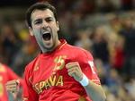 O espanhol Cristian Ugalde, jogador de handebol