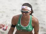 A alemã Greta Cicolari, do vôlei de praia