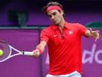 Pela semifinal da chave de simples, o tenista suíço Roger Federer venceu o argentino Juan Martin del Potro em jogo épico por 2 a 1, com parcial de 19 a 17 no terceiro set