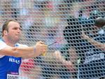 Grego Alexandros Papadimitriou, atleta do arremesso de martelo