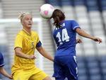 Vitória da França sobre a Suécia por 2 a 1 abriu as quartas de final do futebol feminino