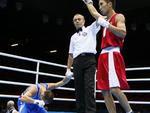 Italiano Vincenzo Picardi fica desolado após derrota para Tugstsogt Nyambayar, da Mongólia