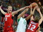 Brasil e Canadá se enfrentaram pelo basquete feminino