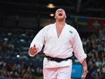 Rafael Silva celebra conquista da medalha de bronze olímpica