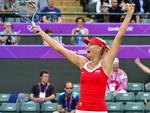 Russa Maria Sharapova venceu a compatriota Maria Kirilenko e avançou à final do tênis feminino
