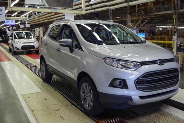Primeira unidade do novo EcoSport é produzida em Camaçari Divulgação/Ford