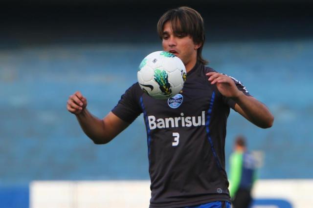 Marcelo Moreno volta ao time do Grêmio e reedita parceria com Kleber no ataque Lucas Uebel/Grêmio FBPA