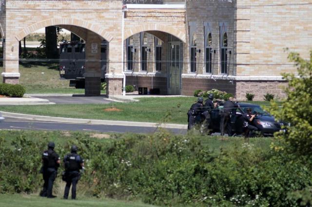 """Após matar seis, atirador é """"liquidado"""" pela polícia nos Estados Unidos Darren Hauck/AFP"""