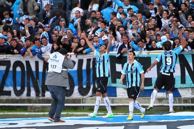Grêmio tem a quinta melhor defesa e sexto ataque mais eficiente do Brasileirão Lucas Uebel/