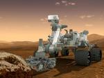 Montagem da Nasa mostra o trabalho da Sonda-robô Curiosity em Marte