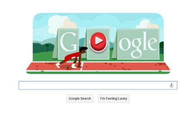 Google tem doodle interativo de corrida com obstáculos Google.com/Reprodução