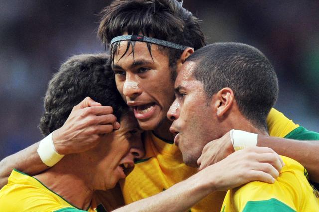 Brasil almeja fazer história na final olímpica do futebol, afirma Neymar PAUL ELLIS /