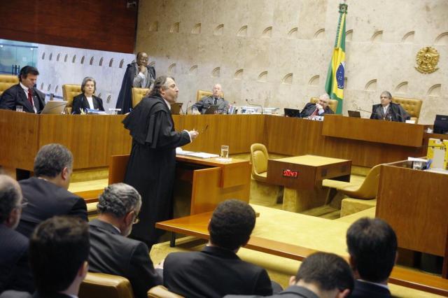 Advogados sustentam que réus desconheciam o esquema do mensalão Gervásio Baptista/STF,Divulgação