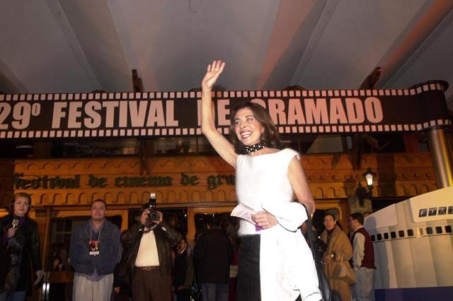 Atriz Betty Faria receberá o troféu Oscarito 2012 na 40ª edição do Festival de Cinema de Gramado Genaro Joner/Agencia RBS