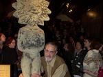 Ator gaúcho Paulo José na noite em que foi homenageado com o troféu Oscarito no 28º Festival de Cinema de Gramado (2000)