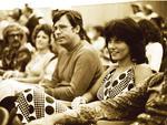 Cineasta Roberto Farias na primeira edição do Festival de Cinema de Gramado, em 1973