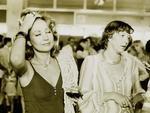 Eva Wilma e Lilian Lemmertz no festival de cinema de Gramado, em 1978