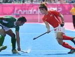 Coreia do Sul e Paquistão disputaram o sétimo lugar no hóquei na grama masculino