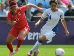 Canadá venceu a França com um gol nos acréscimos e ficou com a medalha de bronze no futebol feminino